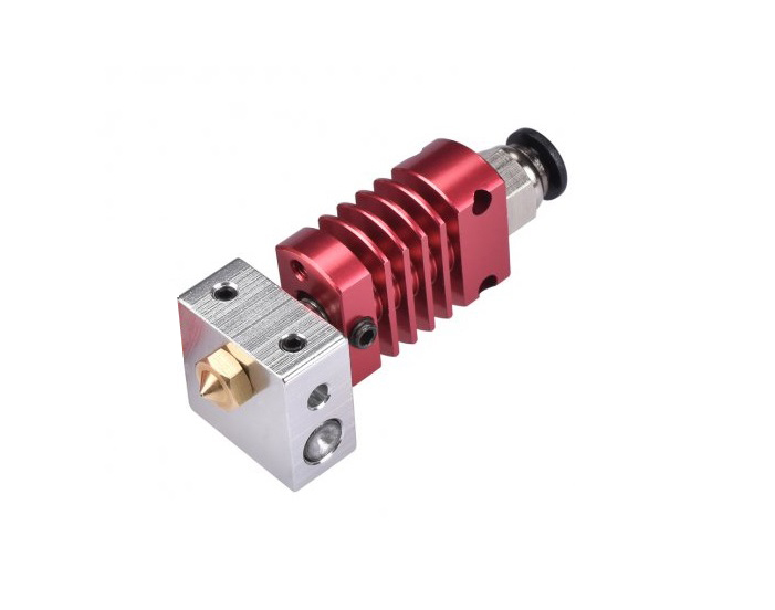 Creality Hotend with 0.4mm Brass Nozzle