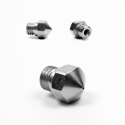 Micro-Swiss MK10 Plated Nozzle for Stock Hotend