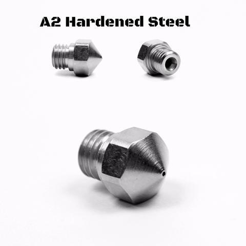 Micro-Swiss MK10 A2 Hardened Steel Nozzle 0.4mm